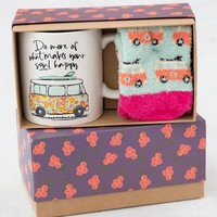 Do More of What Makes Your Soul Happy Mug & Cozy Sock Gift Set