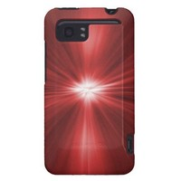 Plain Red Radiant HTC Vivid / Raider 4G Cover from Zazzle.com