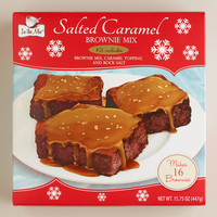 IN THE MIX SALTED CARAMEL BROWNIE KIT