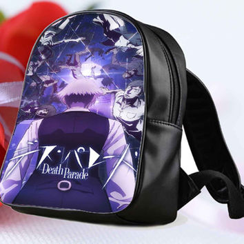 death parade Cartoon for Backpack / Custom Bag / School Bag / Children Bag / Custom School Bag **