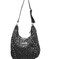 Just for you, we've combined two of your Sourpuss favorites... the Hobo Purse and the beloved Lust for Skulls pattern!! This easy-to-carry, oversized, sling bag features an adjustable strap for the perfect hip to shoulder ratio. The shape of this purse mak
