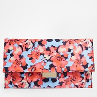 ASOS | ASOS Floral Print Clutch Bag at ASOS