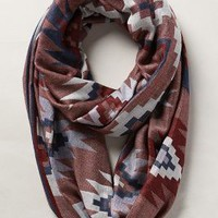 Shopa Jacquard Scarf by Anthropologie Blue One Size Scarves