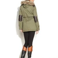 Style&co. Hooded Faux-Fur-Trim Parka | macys.com