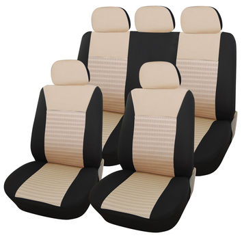 Furnistar 9-Piece Car Vehicle Protective Seat Covers CV0144B-1