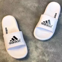Adidas:Fashionable casual slippers for men and women