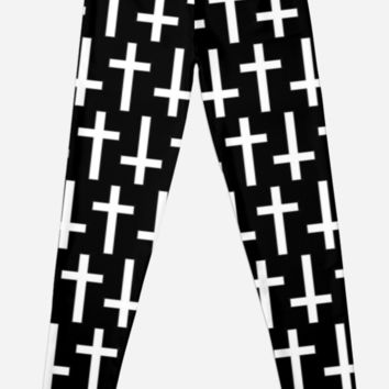 Black/White Crosses by phantastique