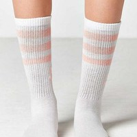 adidas Originals Haze Coral Single Roller Crew Sock | Urban Outfitters
