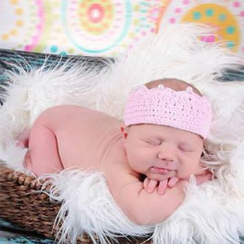 BABY PRINCESS CROWN Newborn Photo Prop - CPR092