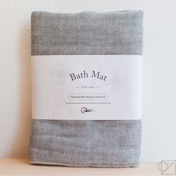 Natural Anti-Odor Binchotan Charcoal Bathmat