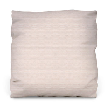 Blush Watercolor Stripes Throw Pillow