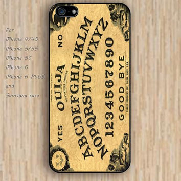 iPhone 5s 6 case golden Ouija Board dream catcher colorful phone case iphone case,ipod case,samsung galaxy case available plastic rubber case waterproof B626