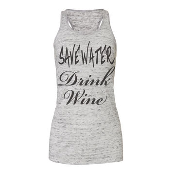 save water drink wine tanks, workout tank top, workout tank, exercise tank, gym tank, workout, workout tanks, tank top, workout shirts,