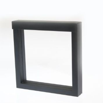 "3D NIMBUS Floating Frame, Shadow Box, Display Case, Box 6""x 6"" x 1"""