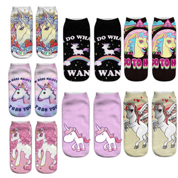 Unicorn Printed socks
