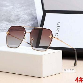 GUCCI Hot Sale Trending Women Stylish Bee Shades Eyeglasses Glasses Sunglasses 4#