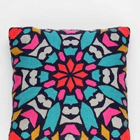 Magical Thinking Starburst Pillow- Blue One