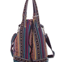 Retro Woven Bag | Hippie Backpacks | Soul Flower