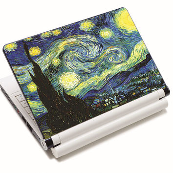 """Village Prints Universal Laptop Skins Sticker Cover Decal Protectors for 12.1"""" 13.3"""" 14"""" 14.4"""" 15"""" 15.4"""" 15.6"""" Inch Laptop"""