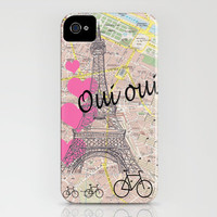 Oui Oui iPhone Case by Catherine Holcombe | Society6