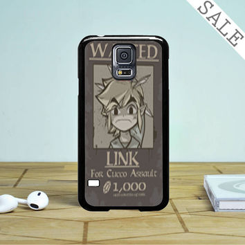 Wanted Link Zelda Samsung Galaxy S5 Case