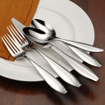 Oneida Comet 45 Piece Casual Flatware Set, Service for 8
