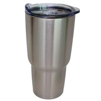 NorChill 30oz Stainless Steel Tumbler w-Clear Lid [ACC-NC-9129]