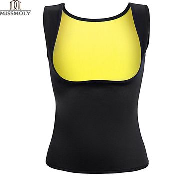 Miss Moly Shapers Sauna Sweat Neoprene Body Shaper Women Slimming Thermo Push Up Vest Waist Trainer Cincher Corset *USPS*