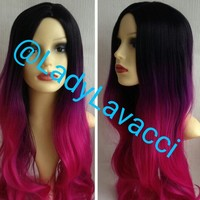 Pammy Custom Colored Full Closure Wig 18 Inches