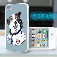 unique iphone case,glitter i phone 4 4s case,cool cute iphone4 iphone4s case cover,stylish  plastic rubber cases,  animal  funny dog   bp935