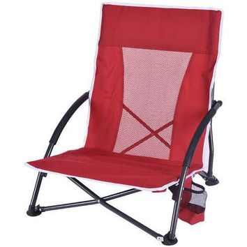 Red Ozark Trail Camp Chair