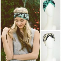 Palm Tree Twist Headband