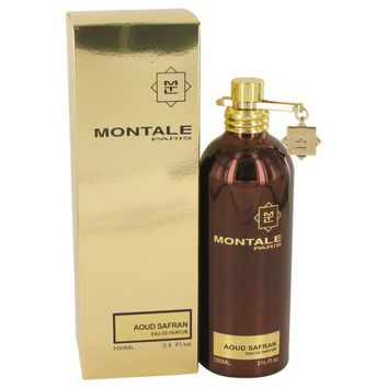 Montale Paris Aoud Safran By Montale Eau De Parfum Spray 3.4 Oz
