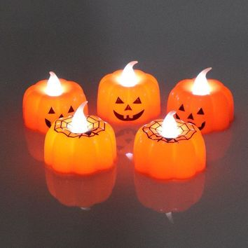2PCS Electronic LED Tea Light Candles Realistic Battery Powered Flameless Candles Lamps Wedding Halloween Party Decoration