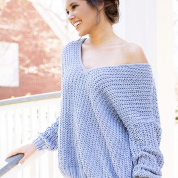Cloud Dancer Sweater | Monday Dress Boutique