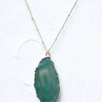Emerald Envy Necklace | Monday Dress