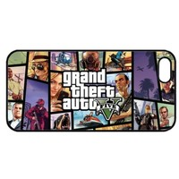 ★ GRAND THEFT AUTO 5 V GTA5 xbox ps3 game Case GTA iPhone 5 5G & 4 4S COVER ★