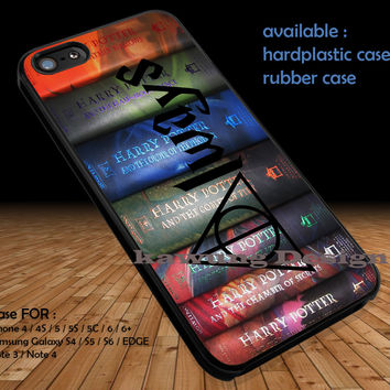 Harry Potter Books Always DOP1106 iPhone 6s 6 6s+ 5c 5s Cases Samsung Galaxy s5 s6 Edge+ NOTE 5 4 3 #movie #HarryPotter