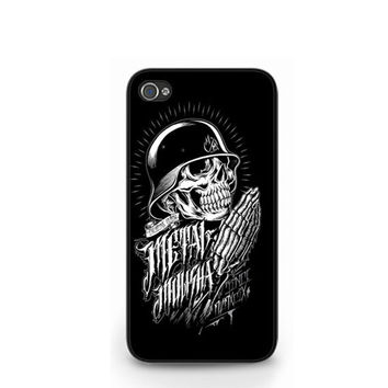 New Metal Mulisha Skull Black iPhone 4 4S / iPhone 5 Hard Case Cover