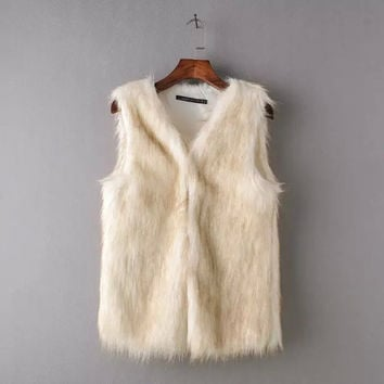 Winter Women's Fashion Fur [6514107335]