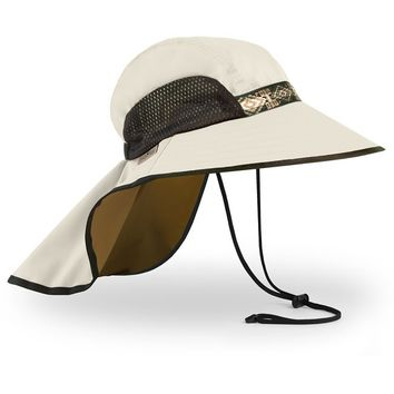 Sunday Afternoons UV50 Sun Protection Adventure Hat - Cream/Coffee