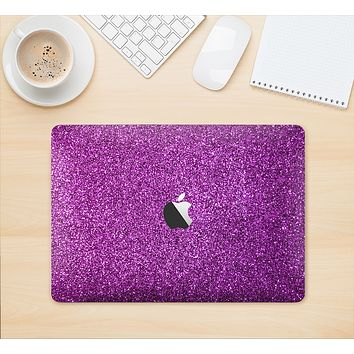 "The Purple Glitter Ultra Metallic Skin Kit for the 12"" Apple MacBook"