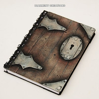 Notebook Old Wood Steampunk