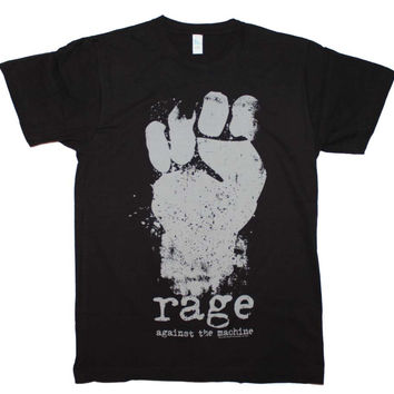 Men's Rock T-Shirt - Rage Against the Machine Fist