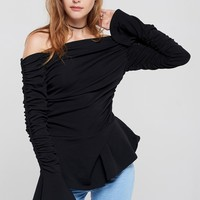 Dawn Off Shoulder Top Discover the latest fashion trends online at storets.com