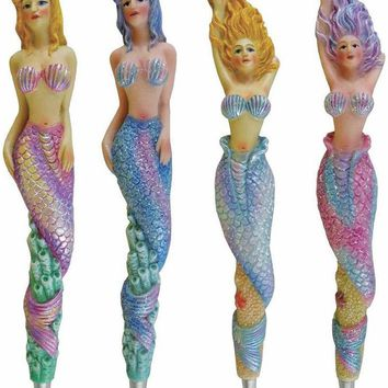 Glitter Mermaid Pen