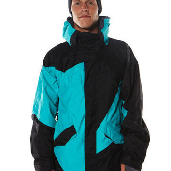 SURFSTITCH - SNOW - MENS - JACKETS - VOLCOM SHAPER JACKET - TEAL