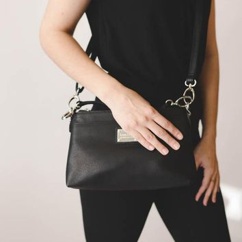 Presque Isle Crossbody - Black