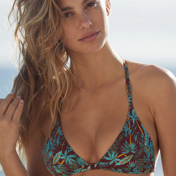 Out From Under Printed Triangle Racerback Bikini Top | Urban Outfitters