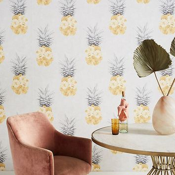 Ludic in Yellow Wallpaper